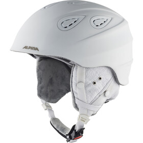 Alpina Grap 2.0 L.E. Casque de ski, white diamonds matt